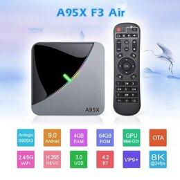 ТВ-приставки и медиаплееры - A95X f3 air 2/16 приставка ТВ, 0