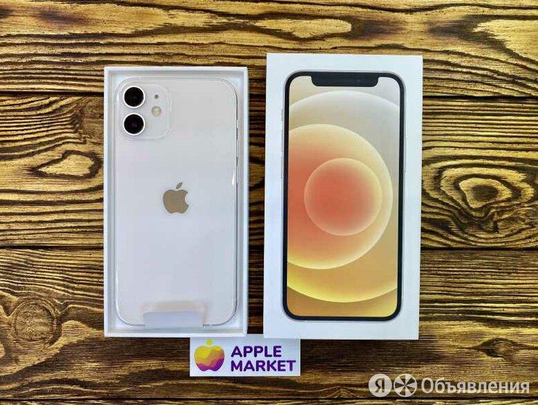 Apple iPhone 12 Mini 128Gb White (Белый) по цене 59490₽ - Мобильные телефоны, фото 0