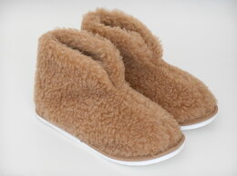 Домашняя обувь - Тапочки из овечьей шерсти р.36, 0