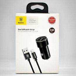 Зарядные устройства и адаптеры - Автомобильное зарядное устройство Baseus Small Screw, 0