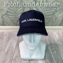 Головные уборы - Кепка Karl Lagerfeld тёмно-синяя, 0