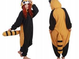 Кигуруми - Новая. Пижама-кигуруми костюм Енота размеры XS-XL, 0