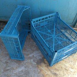 Корзины, коробки и контейнеры - Ящики пластиковые, синие 40х50х15, 0