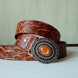 Ремни и пояса - Ремень из натуральной кожи Elemento, Italy, 0