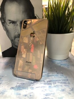 Мобильные телефоны - iPhone Xs Max 64GB Gold б/у, 0