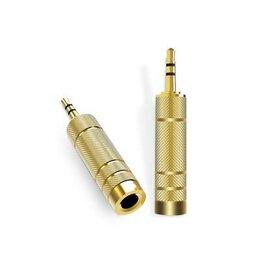 Кабели и разъемы - Переходник 3,5 мм разъем 6,5 мм адаптер 3,5 до 6,5 Джек , 0