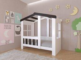 Кровати -  Детская кровать-домик Астра белый-венге 9 цветов!, 0