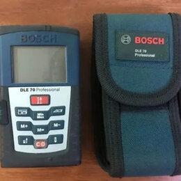 Измерительные инструменты и приборы - Лазерный дальномер Bosch DLE 70 Professional, 0