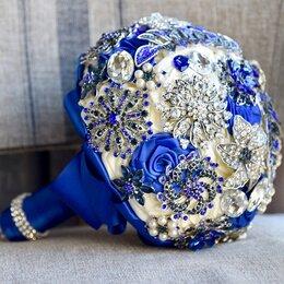 Свадебные украшения - Брошь букет невесты , 0