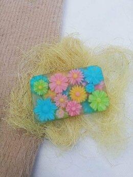 Мыло - Мыло ручной работы - Цветы в Прямоугольнике, 0