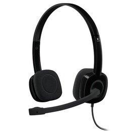 Компьютерные гарнитуры - Гарнитура Logitech Headset H151 Stereo Black, 0