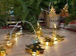 Новогодний декор и аксессуары - Гирлянда новогодняя елочки, 0