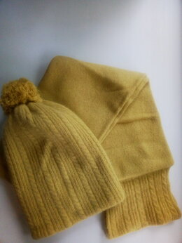 Головные уборы - Комплект шапка/шарф, АНГОРА 50%, 0