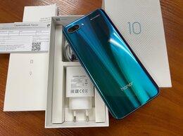 Мобильные телефоны - Honor 10 4/128Gb green в хорошем состоянии, 0