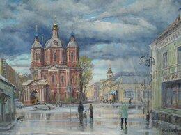 Картины, постеры, гобелены, панно - Дождь на Пятницкой, 0