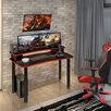 Игровой стол для геймера 'Turbo S 1200', red по цене 6500₽ - Компьютерные и письменные столы, фото 0