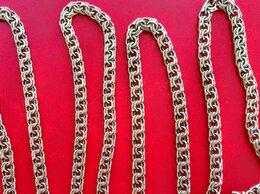 Цепи - Цепи серебро Бисмарк 55см оксидированные, 0