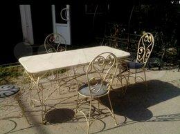 Дизайн, изготовление и реставрация товаров -   Кованая мебель для дома и дачи, 0