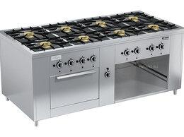 Промышленные плиты - Плита газовая Вулкан ПРГ-IIA-8 ДШ Maxi, 0
