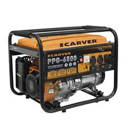 Электрогенераторы и станции - Генератор бензиновый Carver PPG-6500, 0