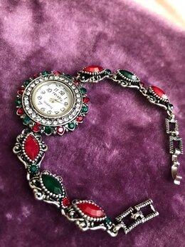 Наручные часы - Часы женские с фианитами и цирконами под винтаж, 0