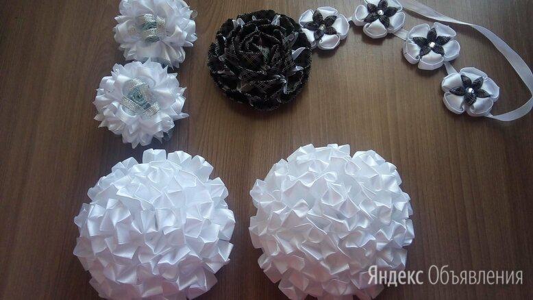 рукоделие из атласных лент по цене 200₽ - Рукоделие, поделки и сопутствующие товары, фото 0