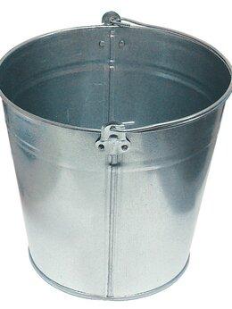 Ведра и тазы - Ведро металлическое,оцинкованное 12 л, 0