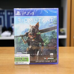 Игры для приставок и ПК - Biomutant - PS4 Новый диск, 0