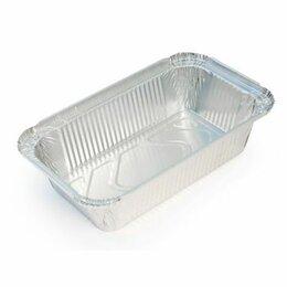Посуда для выпечки и запекания - Алюминиевая форма прямоугольная объем 685мл L-край 25 шт, 0