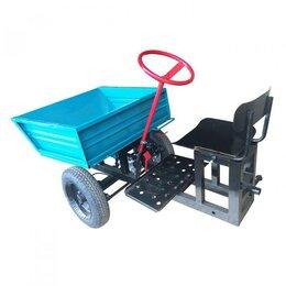 Навесное оборудование - Прицеп-адаптер с кузовом передний к мотоблоку, 0