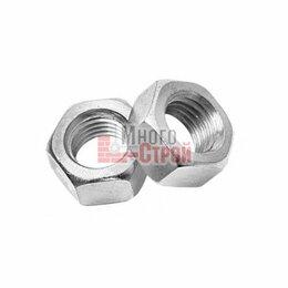 Шайбы и гайки - Гайки шестигранные DIN 934 Zn КНР М10, 0