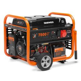 Электрогенераторы - Бензиновый генератор DAEWOO GDA 8500E-3, 0