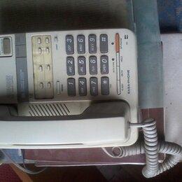 Проводные телефоны - Телефон с автоответчиком, 0