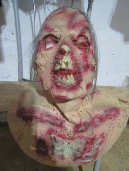 Карнавальные и театральные костюмы - маска зомби, 0