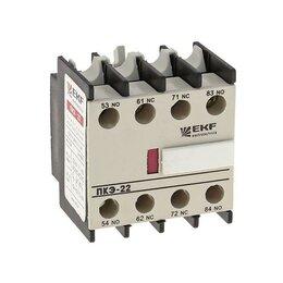 ТВ-приставки и медиаплееры - Приставка конт. ПКЭ-22 2НО+2НЗ EKF ctr-sc-25, 0