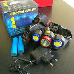 Фонари - Налобный фонарь аккумуляторный FA-XQ208T6, 0