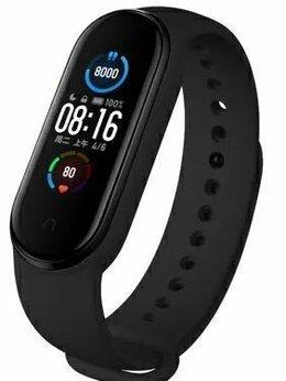 Умные часы и браслеты - Фитнес-браслет xiaomi Mi Band 5 чёрный, 0