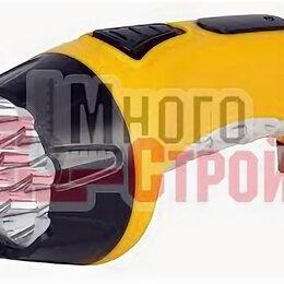 Настольные игры - Аккумуляторный светодиодный фонарь 15+10 LED с прямой зарядкой Smartbuy, желтый, 0
