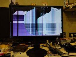Мониторы - Монитор aoc g2460pqu на экране только одни линии, 0