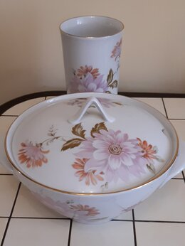 Сервизы и наборы - Супница и ваза Дулёво, 0