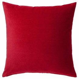 Подушки - Чехол на подушку Санела 500х500 мм (красный), 0