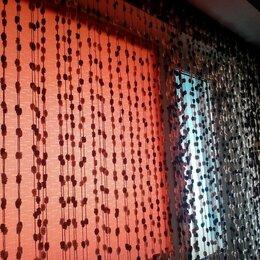Шторы - Нитяные шторы с помпонами, 0