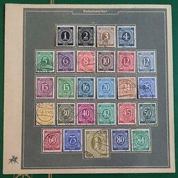 Марки - марки сувенирный лист 1946 германия зона…, 0