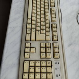 Клавиатуры - Клавиатура белая Ps/5, 0