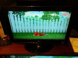 Телевизоры - Телевизор Лыжа 26/67см. встроенный ДВД., 0