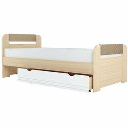 Кровати - Кровать Стиль.Кофе (900.3) + Ящик Универсальный, 0