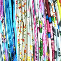Рукоделие, поделки и сопутствующие товары - Весовой лоскут для пэчворка и много текстиля по низким ценам., 0