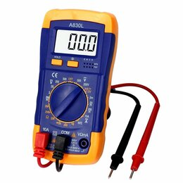 Измерительные инструменты и приборы - Мультиметр цифровой Digital A830L, 0