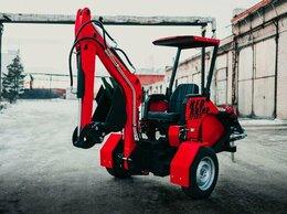 Спецтехника и навесное оборудование - Прицепной мини-экскаватор RED Rhino PE-5022, 0