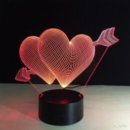 Ночники и декоративные светильники - 3d ночник светильник, 0
